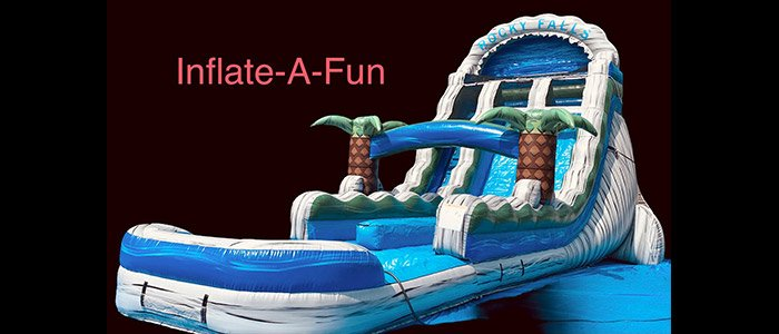 Commercial bounce house for sale client