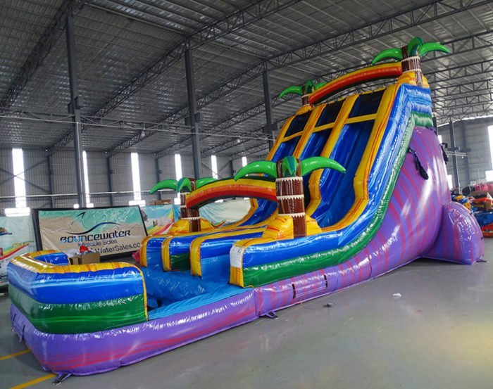 Photo of water slide for sale - 18ft center climb Goombay Palms