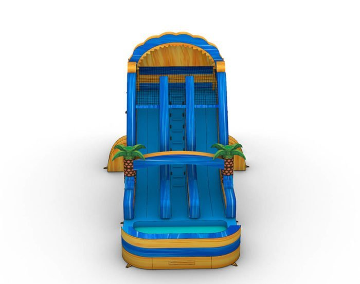 photo rendering of 18ft lava falls climb Water slide for sale