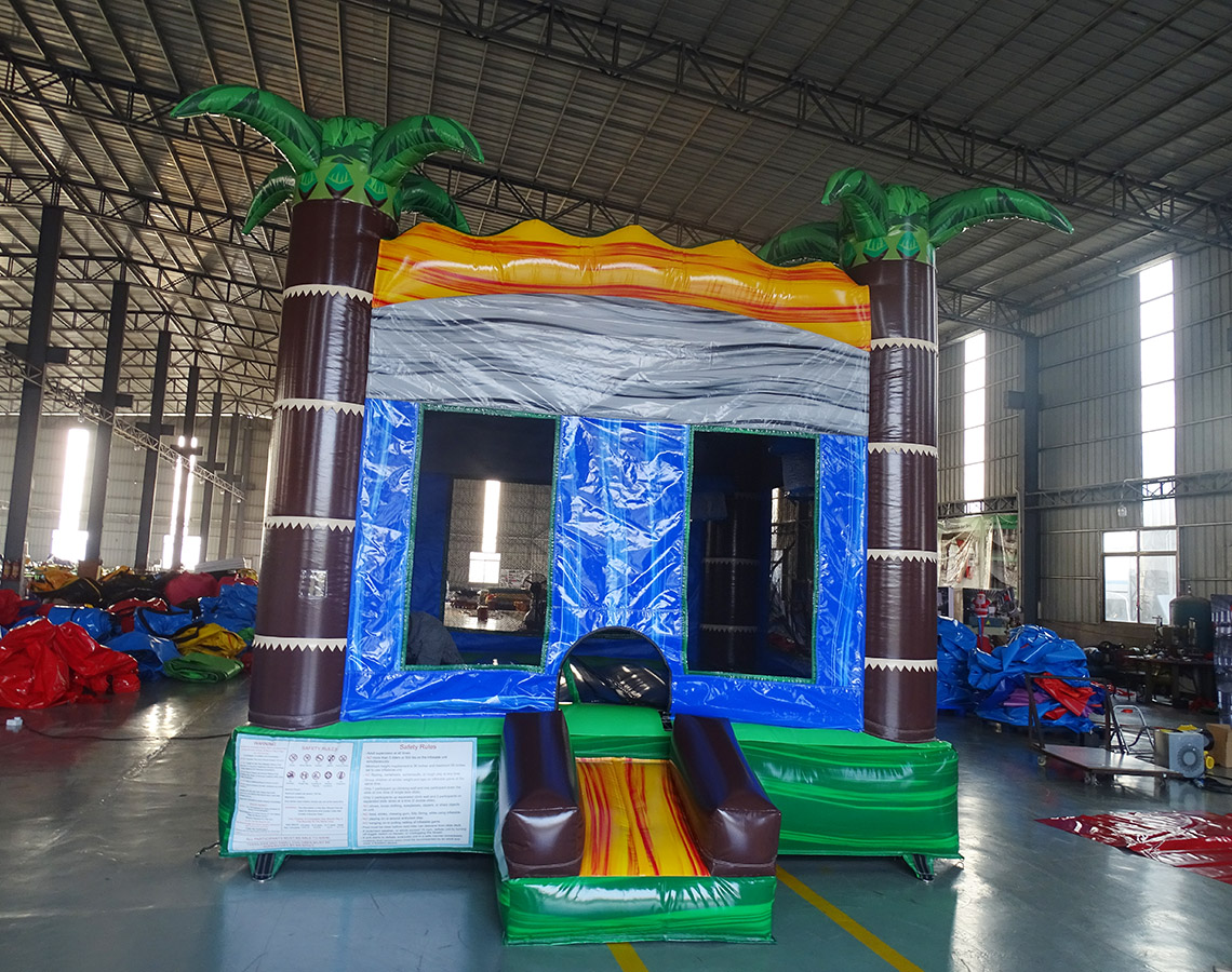 tropical crush bounce house 685-1