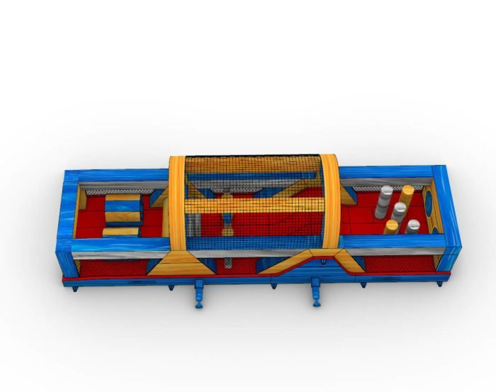 Rip Curl inflatable obstacle course for sale