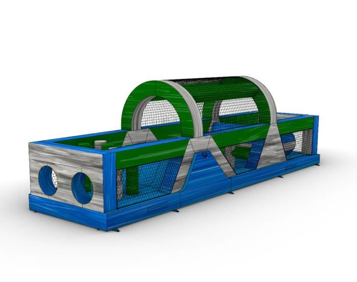40FT Island Drop Wrap Around Obstacle Course for sale