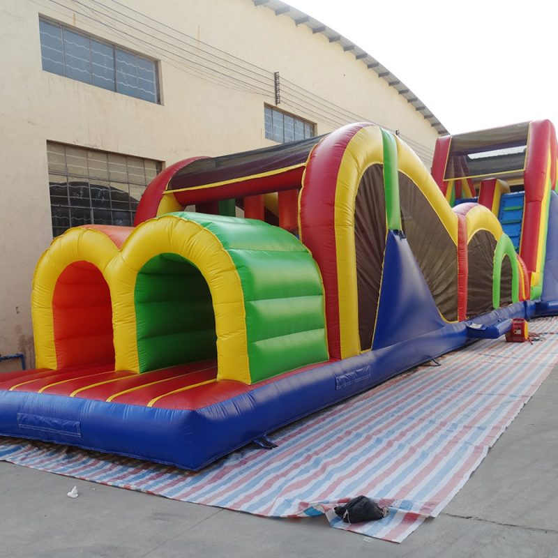 77ft Xtreme inflatable obstacle for sale