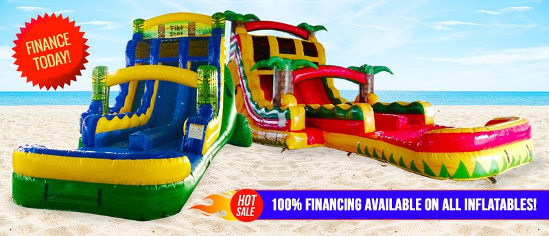 Photo of Financed Inflatable water slides for sale