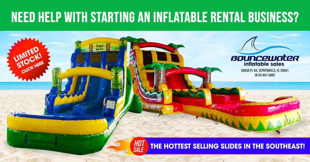 start an inflatable bounce house business